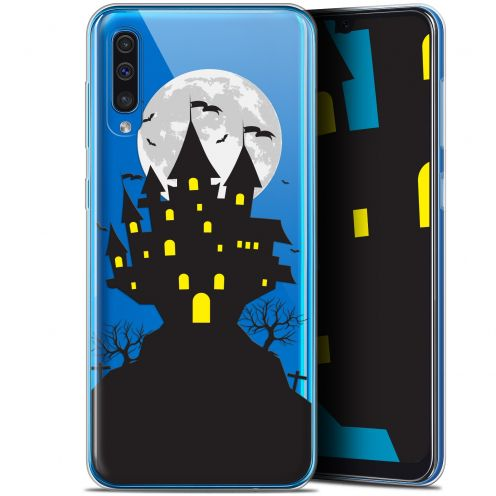 "Carcasa Gel Extra Fina Samsung Galaxy A50 (6.4"") Halloween Castle Scream"