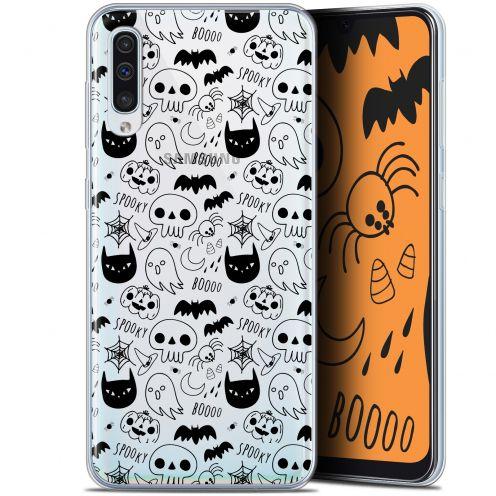 "Carcasa Gel Extra Fina Samsung Galaxy A50 (6.4"") Halloween Spooky"