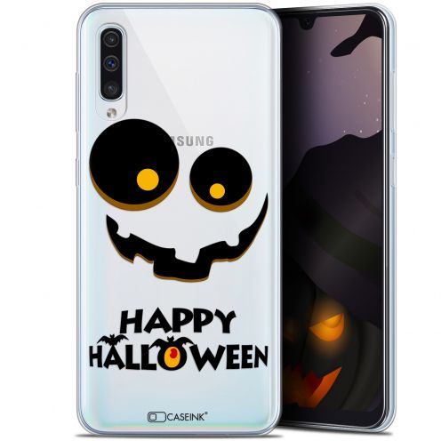 "Carcasa Gel Extra Fina Samsung Galaxy A50 (6.4"") Halloween Happy"