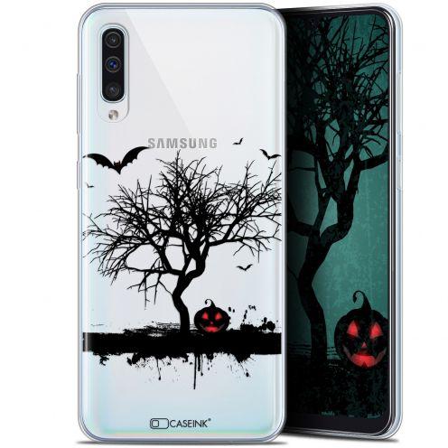 "Carcasa Gel Extra Fina Samsung Galaxy A50 (6.4"") Halloween Devil's Tree"
