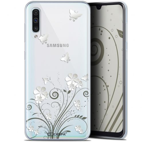 "Carcasa Gel Extra Fina Samsung Galaxy A50 (6.4"") Summer Papillons"