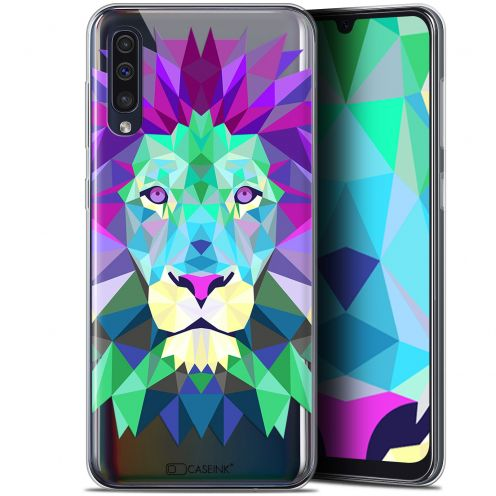 "Carcasa Gel Extra Fina Samsung Galaxy A50 (6.4"") Polygon Animals León"