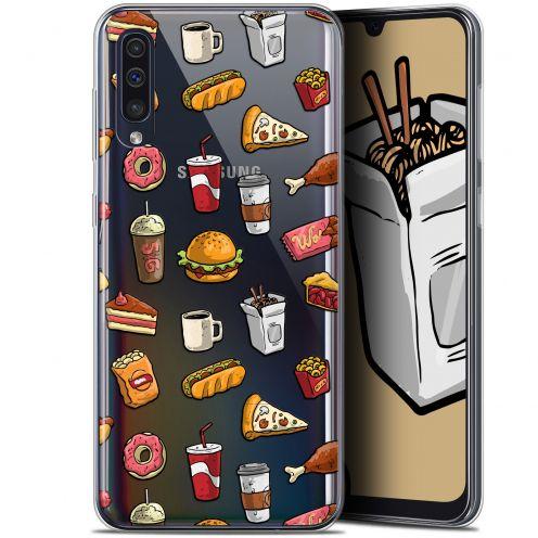 """Carcasa Gel Extra Fina Samsung Galaxy A50 (6.4"""") Foodie Fast Food"""