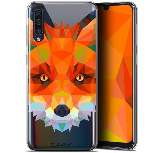 "Carcasa Gel Extra Fina Samsung Galaxy A50 (6.4"") Polygon Animals Zorro"
