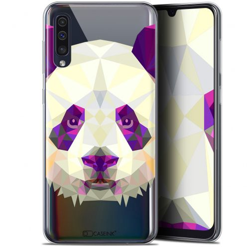 "Carcasa Gel Extra Fina Samsung Galaxy A50 (6.4"") Polygon Animals Panda"