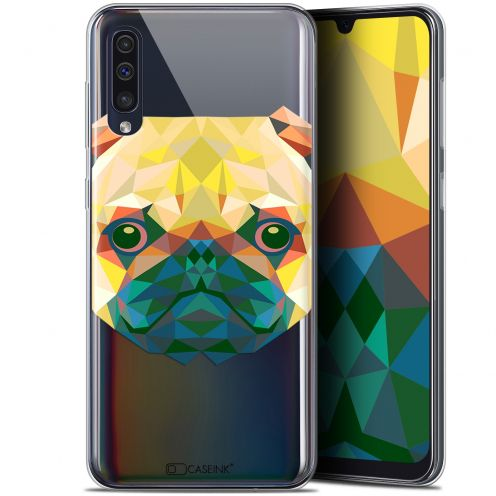 "Carcasa Gel Extra Fina Samsung Galaxy A50 (6.4"") Polygon Animals Perro"