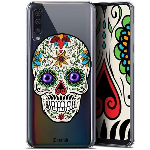 "Carcasa Gel Extra Fina Samsung Galaxy A50 (6.4"") Skull Maria's Flower"