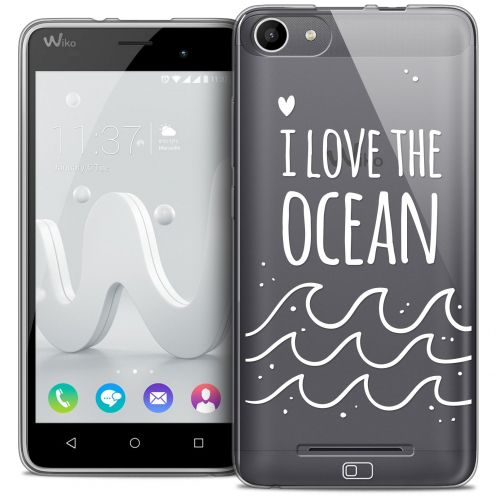 Carcasa Crystal Gel Extra Fina Wiko Jerry Summer I Love Ocean