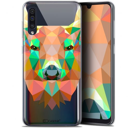 "Carcasa Gel Extra Fina Samsung Galaxy A50 (6.4"") Polygon Animals Ciervo"