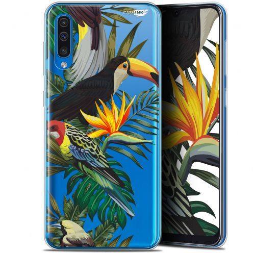 "Carcasa Gel Extra Fina Samsung Galaxy A50 (6.4"") Design Toucan Tropical"