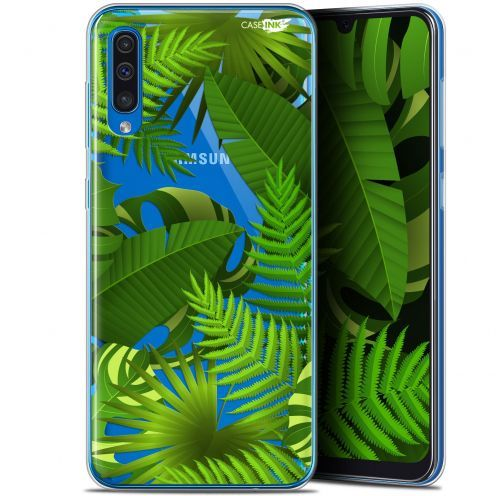 "Carcasa Gel Extra Fina Samsung Galaxy A50 (6.4"") Design Plantes des Tropiques"