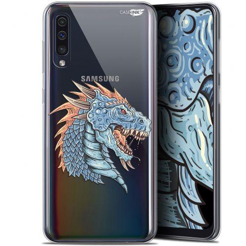"""Carcasa Gel Extra Fina Samsung Galaxy A50 (6.4"""") Design Dragon Draw"""