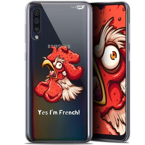 """Carcasa Gel Extra Fina Samsung Galaxy A50 (6.4"""") Design I'm French Coq"""