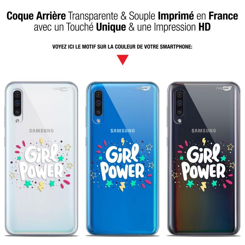 "Carcasa Gel Extra Fina Samsung Galaxy A50 (6.4"") Design Girl Power"