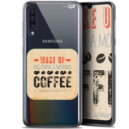 "Carcasa Gel Extra Fina Samsung Galaxy A50 (6.4"") Design Wake Up With Coffee"