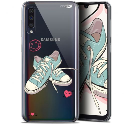 "Carcasa Gel Extra Fina Samsung Galaxy A50 (6.4"") Design Mes Sneakers d'Amour"