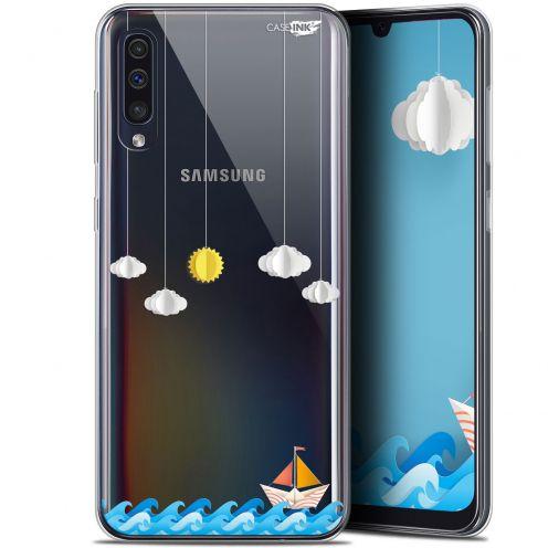 "Carcasa Gel Extra Fina Samsung Galaxy A50 (6.4"") Design Petit Bateau en Mer"