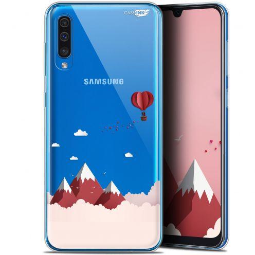 "Carcasa Gel Extra Fina Samsung Galaxy A50 (6.4"") Design Montagne En Montgolfière"