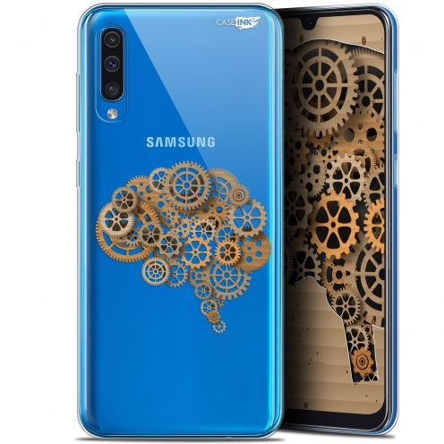 "Carcasa Gel Extra Fina Samsung Galaxy A50 (6.4"") Design Mécanismes du Cerveau"