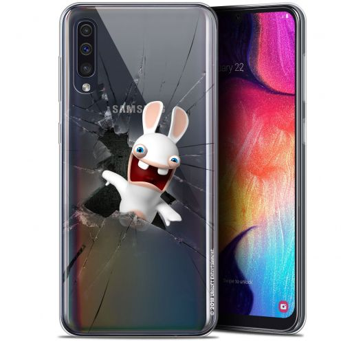 "Carcasa Gel Samsung Galaxy A50 (6.4"") Lapins Crétins™ Breaking Glass"