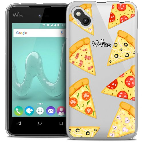Carcasa Crystal Gel Extra Fina Wiko Sunny Foodie Pizza