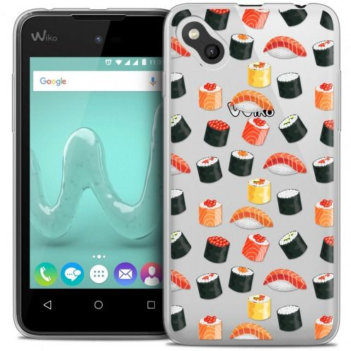 Carcasa Crystal Gel Extra Fina Wiko Sunny Foodie Sushi