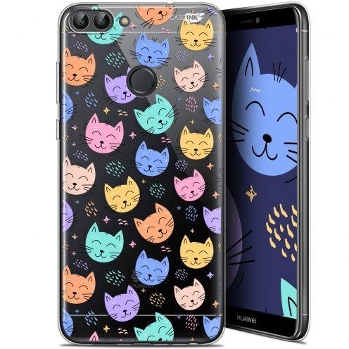 "Carcasa Gel Extra Fina Huawei P Smart (5.7"") Design Chat Dormant"