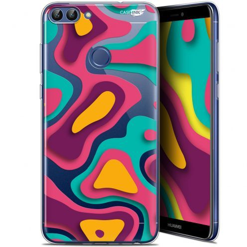 "Carcasa Gel Extra Fina Huawei P Smart (5.7"") Design Popings"
