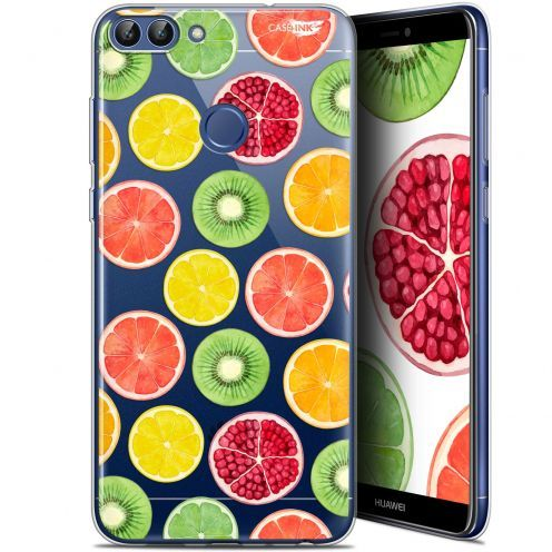 "Carcasa Gel Extra Fina Huawei P Smart (5.7"") Design Fruity Fresh"