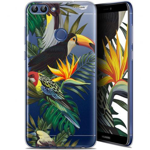 "Carcasa Gel Extra Fina Huawei P Smart (5.7"") Design Toucan Tropical"