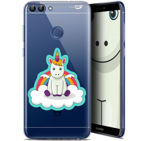 """Carcasa Gel Extra Fina Huawei P Smart (5.7"""") Design Bébé Licorne"""