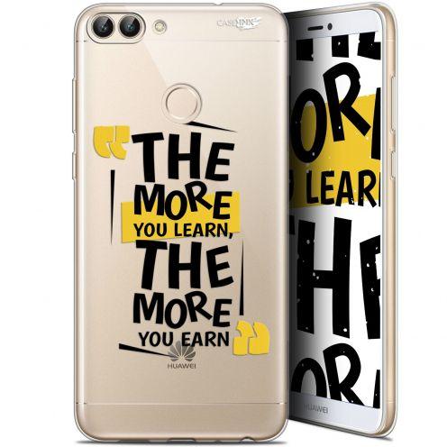"Carcasa Gel Extra Fina Huawei P Smart (5.7"") Design The More You Learn"
