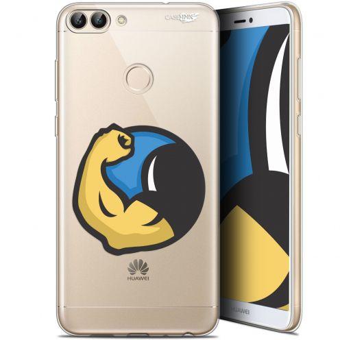 "Carcasa Gel Extra Fina Huawei P Smart (5.7"") Design Monsieur Muscle"