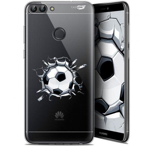 "Carcasa Gel Extra Fina Huawei P Smart (5.7"") Design Le Balon de Foot"