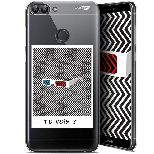 "Carcasa Gel Extra Fina Huawei P Smart (5.7"") Design Tu Vois ce que Je Vois ?"