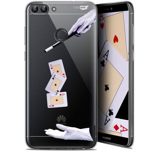 "Carcasa Gel Extra Fina Huawei P Smart (5.7"") Design Cartes Magiques"