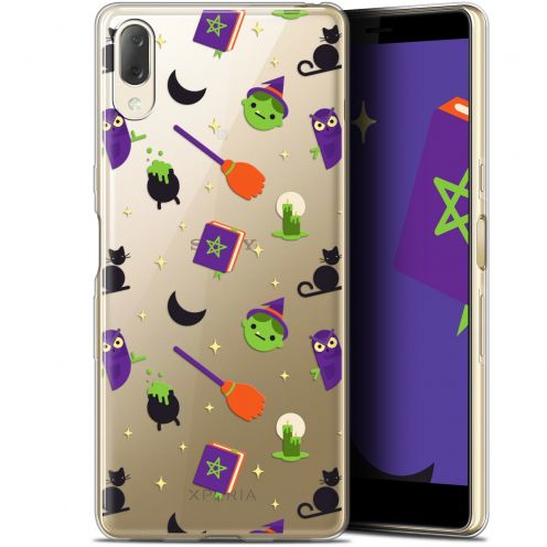 "Carcasa Gel Extra Fina Sony Xperia L3 (5.7"") Halloween Witch Potter"
