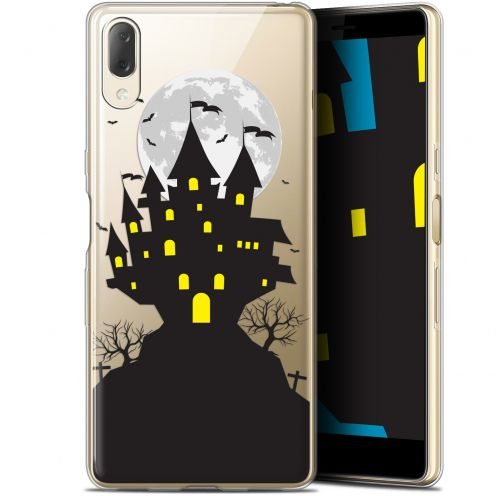 "Carcasa Gel Extra Fina Sony Xperia L3 (5.7"") Halloween Castle Scream"
