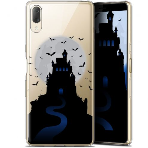 "Carcasa Gel Extra Fina Sony Xperia L3 (5.7"") Halloween Castle Nightmare"