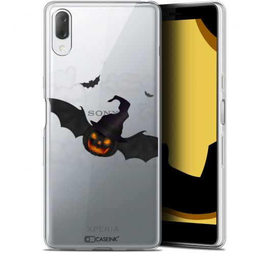 "Carcasa Gel Extra Fina Sony Xperia L3 (5.7"") Halloween Chauve Citrouille"