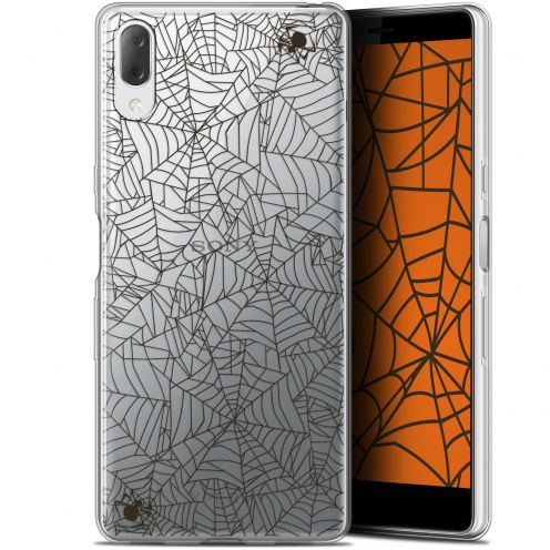 "Carcasa Gel Extra Fina Sony Xperia L3 (5.7"") Halloween Spooky Spider"