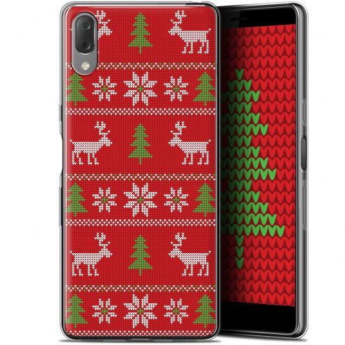 "Carcasa Gel Extra Fina Sony Xperia L3 (5.7"") Noël 2017 Couture Rouge"