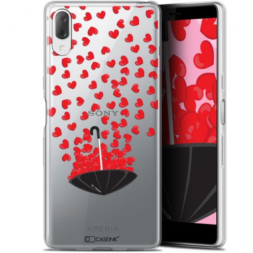 "Carcasa Gel Extra Fina Sony Xperia L3 (5.7"") Love Parapluie d'Amour"