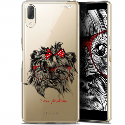 "Carcasa Gel Extra Fina Sony Xperia L3 (5.7"") Design Fashion Dog"