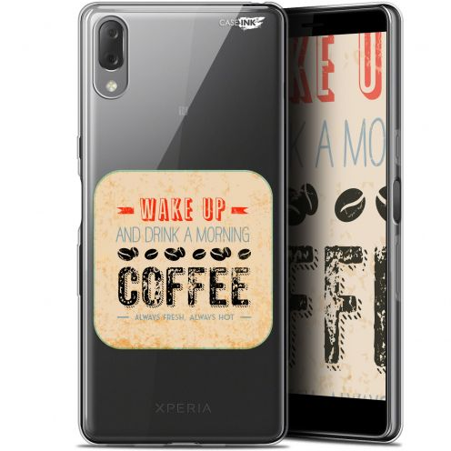 "Carcasa Gel Extra Fina Sony Xperia L3 (5.7"") Design Wake Up With Coffee"