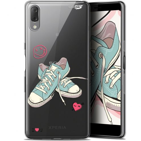 "Carcasa Gel Extra Fina Sony Xperia L3 (5.7"") Design Mes Sneakers d'Amour"