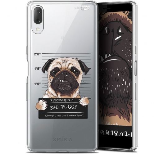 "Carcasa Gel Extra Fina Sony Xperia L3 (5.7"") Design Beware The Puggy Dog"