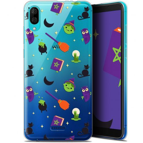 """Carcasa Gel Extra Fina Wiko Y80 (6"""") Halloween Witch Potter"""