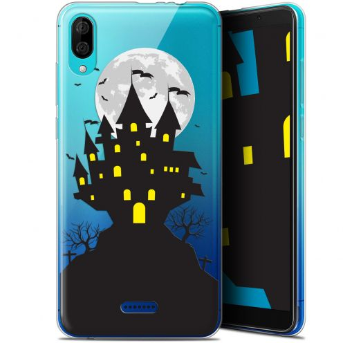 "Carcasa Gel Extra Fina Wiko Y80 (6"") Halloween Castle Scream"