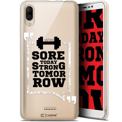 """Carcasa Gel Extra Fina Wiko Y80 (6"""") Quote Strong Tomorrow"""